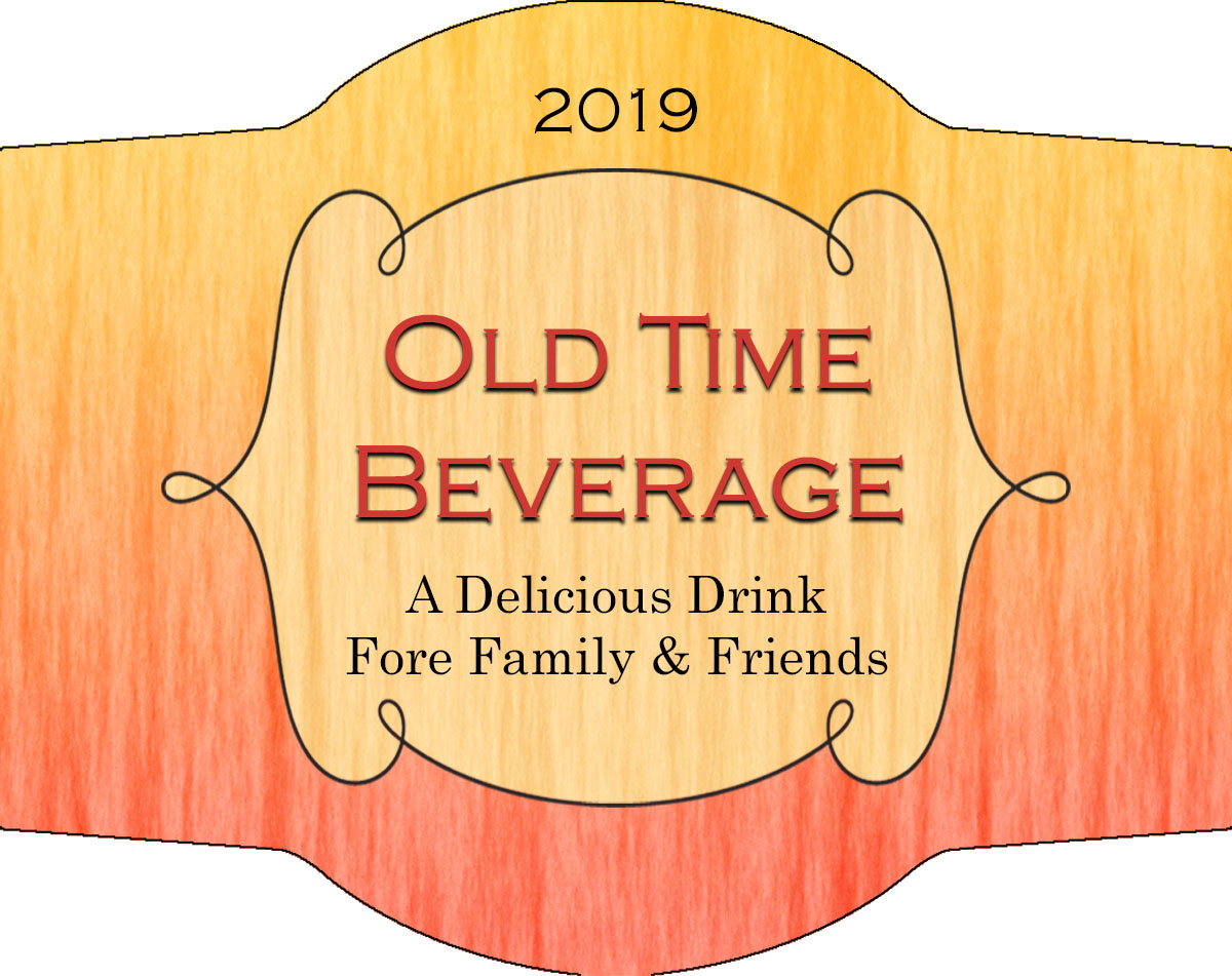 Old time custom personalized label