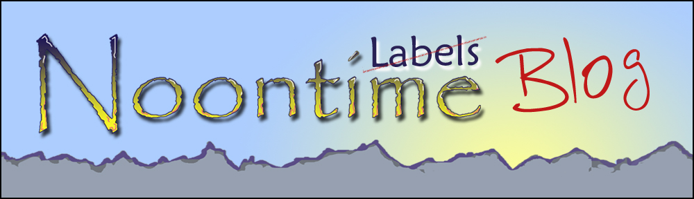 Noontime Labels Blog