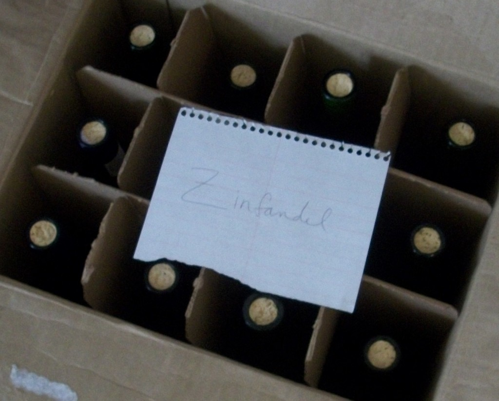 homemade zinfandel wine