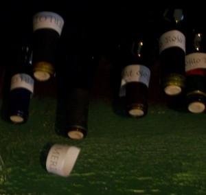 no custom wine label!