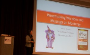 Wine Wizard Allison Crowe home winemaker conference