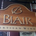 Blair Wine Tasting