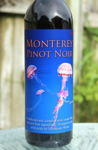 Custom Wine Label Monterey Merlot