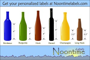 Wine Bottle Sizes for Homemade Wines