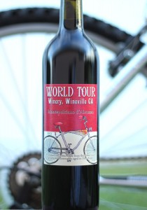 World Tour Winery Custom Label