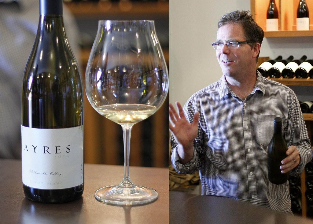 Ayres Pinot Blanc and Winemaker Brad McLeroy