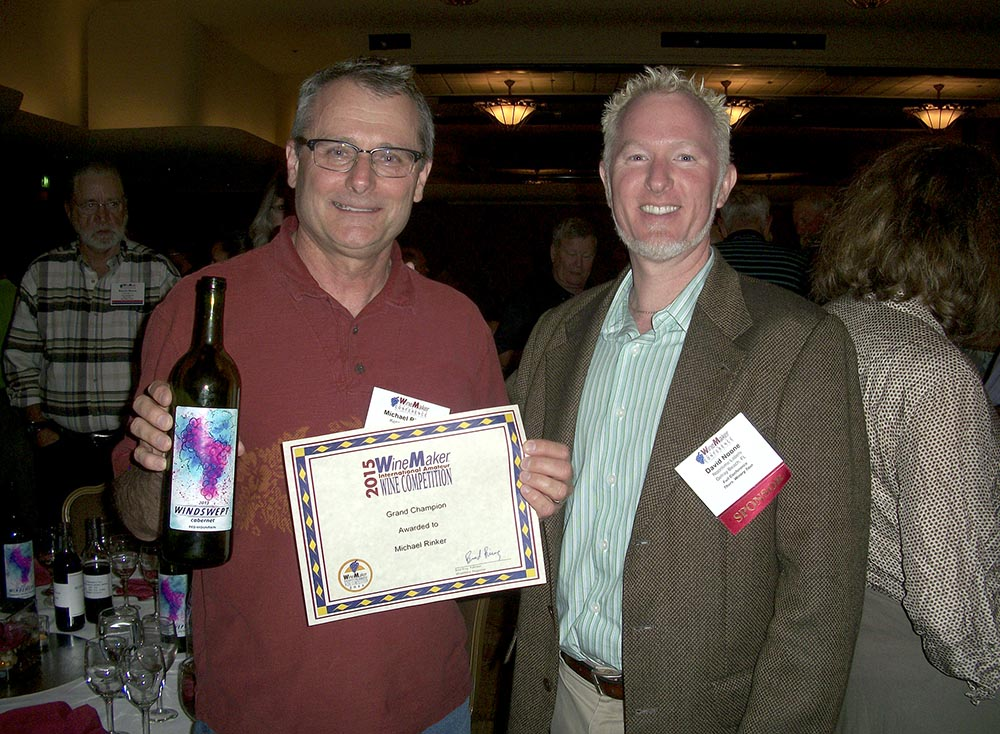 Mike Rinker Winner, Grand Champion Wine