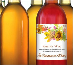 Custom Wine Labels on Sale