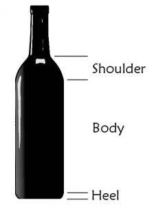 wine bottle parts