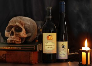 Custom Wine Labels for Halloween