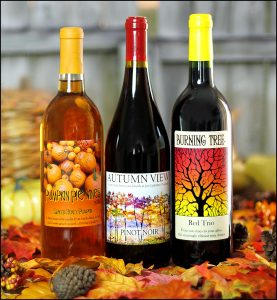 Custom Wine Labels for Autumn